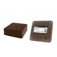 Коробка распаячная TDM 100*100*55 о/у сосна квадрат 1401-0713