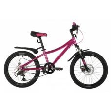 Велосипед NOVATRACK 20AHD.KATRINA.GVL21 фиолетовый металлик 146214