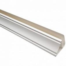 Галтель (плинтус потолочный) Белый ПВХ 3000*10
