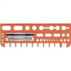 Полка для инструмента 47,5см оранжевая 90718 Стелс