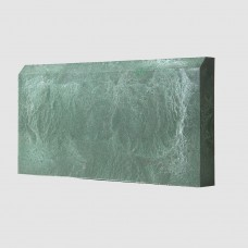 Бордюр тротуарный полимерпесчаный зеленый 500*250*50мм