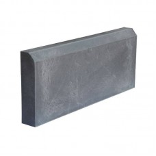 Бордюр тротуарный полимерпесчаный серый 500*250*50мм