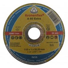 Круг отрезной 3.0*180*22 A24 Klingspor Extra Распродажа