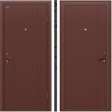 Дверь металлическая Door Out 101 205*98 Левая 3-1, 60, Антик Медь