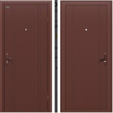 Дверь металлическая Door Out 101 205*98 Правая 3-1, 60, Антик Медь