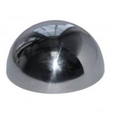 Заглушка полусферическая 50 полированная нержавейка