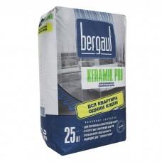 Клей д/плитки Bergauf Keramik Pro 25кг. усиленный
