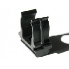 Клипса TDM 16мм черная (10шт) 0405-0111 упак.