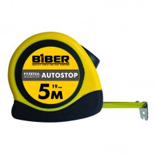 Рулетка Autostop 7,5м*25мм, обрезиненный корпус Бибер