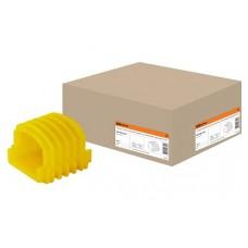 Соединит канал/д коробок желт ТДМ