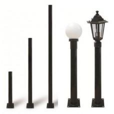 Опора TDM металлическая садово-парковая h-1800 черный 0330-0082