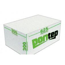 Блоки газобетон D500 625*200*300 Поритеп (50шт/1,875м3)