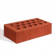 Кирпич лицевой керамический пустотелый одинарный Бархат красный М150 250*120*65