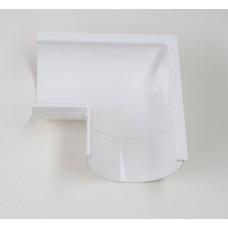 Угол внешний 90гр №11 (125/90) Plastmo, белый