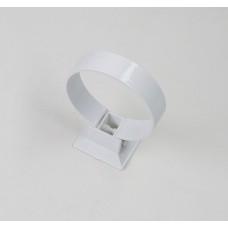 Хомут пластиковый (2шт.) №11 (125/90) Plastmo, белый
