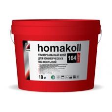 Клей Хомакол 164 Prof ведро 3кг Универсальный клей для коммерческих ПВХ покрытий водно-дисперсионный