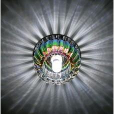 Спот DLS-F115 хром/радужный  G9