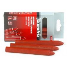 Мелки разметочные восковые 120мм красные 6шт/упак 84818 Матрикс