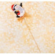 """Декор на палочке """"Новогодний пингвин"""" 3567227"""