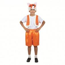 """Карнавальный костюм """"Лисенок"""" (жилет,шапка,шорты) Р:28//98-104см 2618525"""
