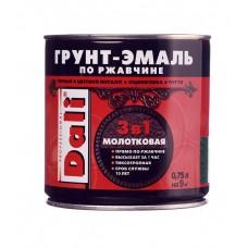 Грунт-эмаль по ржавчине 3в1 Dali винно-красный(3005) 2л.