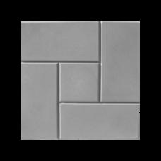 Плитка тротуарная Калифорния 300*300*35мм серый литье