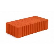 Кирпич керамический полнотелый рифленый М-125 250*120*65 294шт/упак