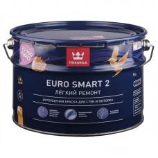 Краска EURO SMART-2 интерьерная 9л. Тиккурила А