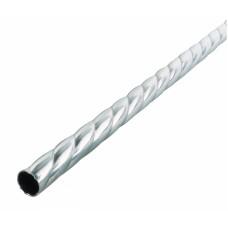Труба для карниза Твист Металл ЛЕ-ГРАНД d16мм 2,0м Серебро матовое
