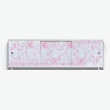 Экран к ванне 1,5м нежно-роз-мрамор (20)