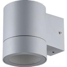 Св-к. Ecola 8003А металл.серый мат.1*GX53 влагозащ.прозр.цилиндр Р65 FG53C1ECH