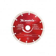 Диск алмазный сегментный 115*1,8*22,2 Матрикс