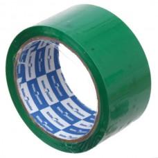 Скотч прозрачный зеленый 50мм*40мкм*57м