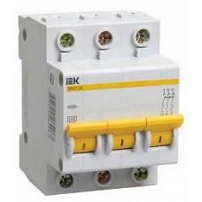 Автомат IEK 20А 3П (MVA 20-3-020-C)