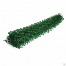 Сетка рабитца ПВХ зеленая из оц.пр. 50*50 d-2,2мм 1,5*10м
