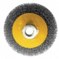 Щетка-крац. дисковая 100мм. для дрели Бибер