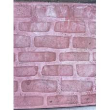 Плитка тротуарная Булыжник 400*400*40мм красный литье
