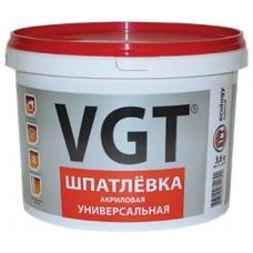Шпатлевка Акриловая д/нар.и вн.работ 7,5кг ВГТ (влагостойкая)