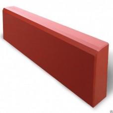 Бордюр тротуарный 1000*200*80 (сух/прес) красный
