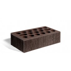 Кирпич лицевой керамический пустотелый одинарный Бархат шоколад М150 250*120*65