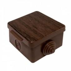 Коробка распаячная TDM 65*65*50 о/у бук квадрат 1401-0611