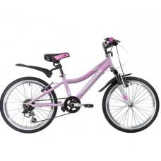 """Велосипед NOVATRACK 20AH6V.NOVARA.PN9 20"""" розовый"""