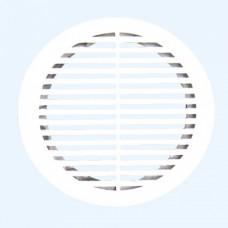 12РКФ Решетка вентиляц круглая d165 с фланцем