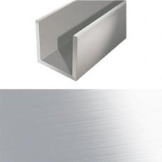Алюминевый швеллер 10*10*10*1,2 Шв 11.2000.500