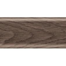 Заглушка для плинтуса пара ПВХ Рико Лео 56мм 2шт/уп 122 Дуб мореный