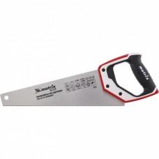 Ножовка по дереву 350мм 14 TPI 3-комп. руч-ка д/точных пильных работ 23552 Матрикс
