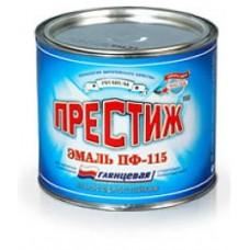Эмаль ПФ-115 0,9кг. зеленое яблоко ПРЕСТИЖ