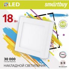 Св-к св/д Smartbuy Square SDL 6W/6500K/IP20
