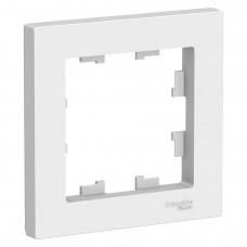 Рамка AtlasDesign 1мест. белая ATN000101