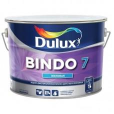 Краска в/э BINDO № 7 BW Acomix матовая для стен и потолков 9л. Dulux